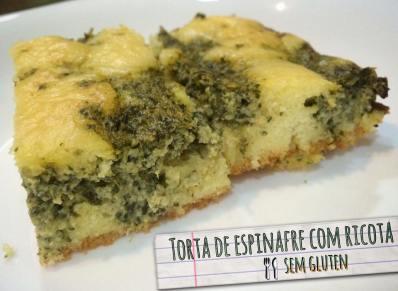 Torta de Espinafre sem glúetn _Blog Donna Belli - Nutrição