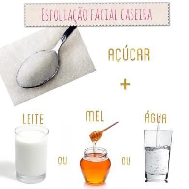 Esfoliação Caseira para a pele_açúcar, mel, leite ou água_ blog donna belli