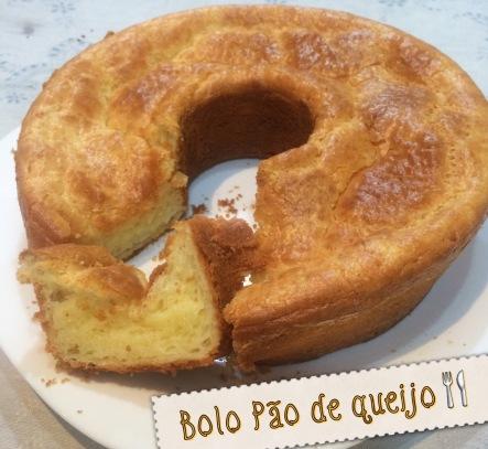 Bolo de pão de queijo - receita