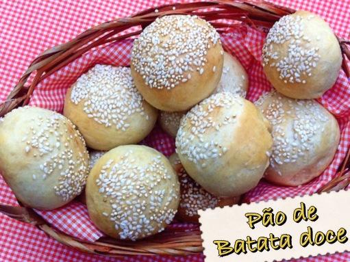 pão de batata doce - receita